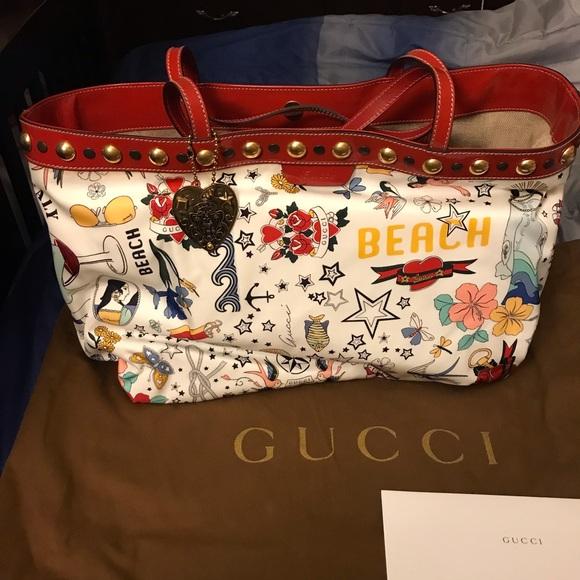 f70c69ae7423 Gucci Bags | Babouska Large Tote | Poshmark